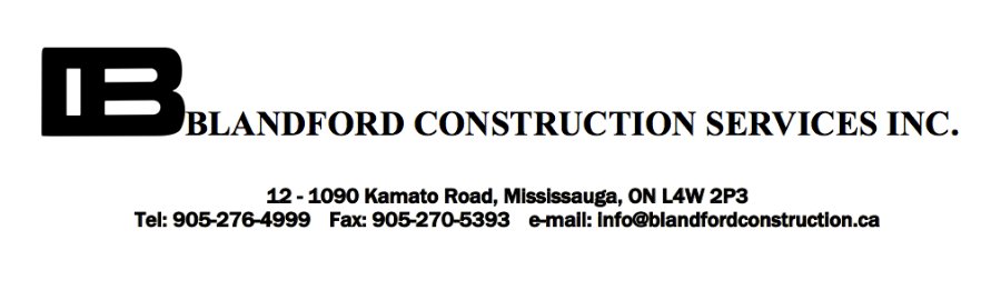 Blandford Construction Services Inc.